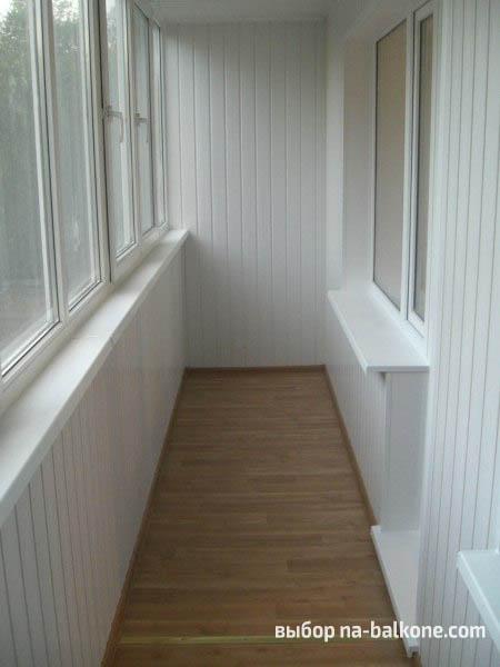 Укладка ламината на балконе, лоджии.